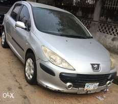 Peugeot 307 with Manual drive neatl Nigerian Used