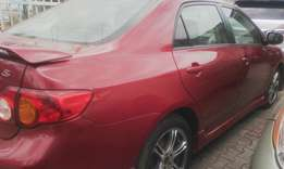 Flashy used Toyota corolla sports edition 2009 model