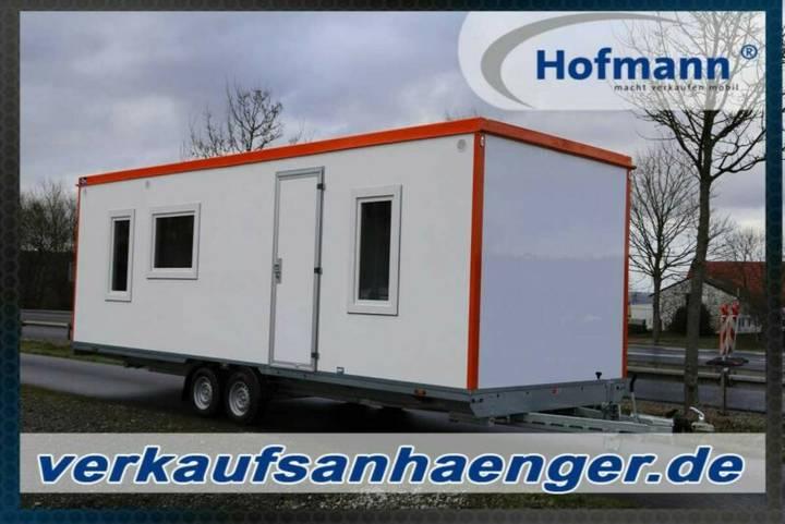 Hofmann mannschaftswagen mit vollausstattung