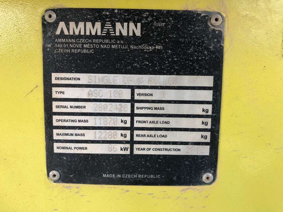 Ammann ASC100D - 2012 - image 7