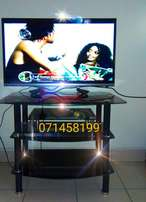 Huge inventory of Black Mega and Mini Glass TV Stands (free Delivery)