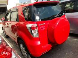Toyota Rush winered