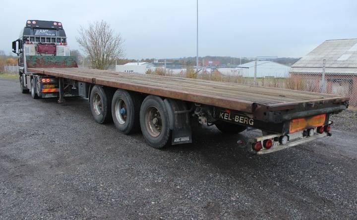 Kel-Berg åben trailer med forsmæk - 2002