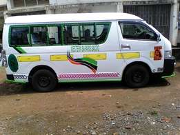 Toyota Hiace KCD 7L 18 Seater