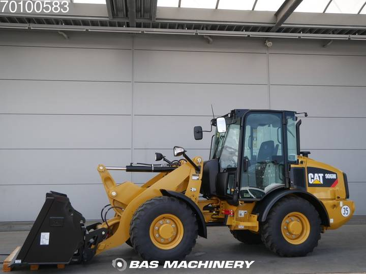 Caterpillar 906 M Bucket and forks - ride controle - warranty - 2019 - image 6