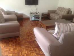 Classic fully furnished apartment 3 bedrooms to let in Laving-ton area