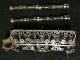 Ford 1600 cylinder head and 2 x camshafts