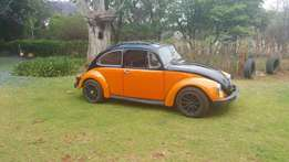 Selling my vw beetle for R28 000