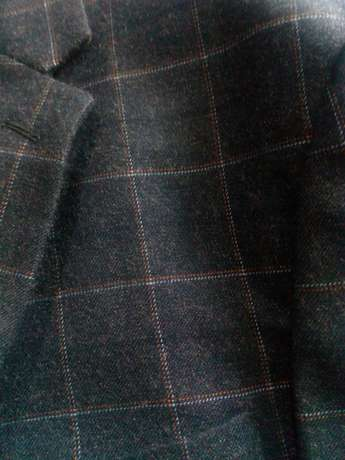 Navy Blue Checked suits for men. Smoothly polished wool. FREE DELIVERY Nairobi CBD - image 7