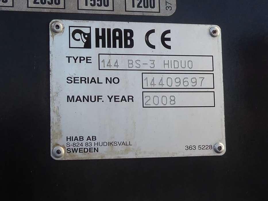 Mercedes-Benz ACTROS 2632 hiab 144bs3,remote,d - 2008 - image 10