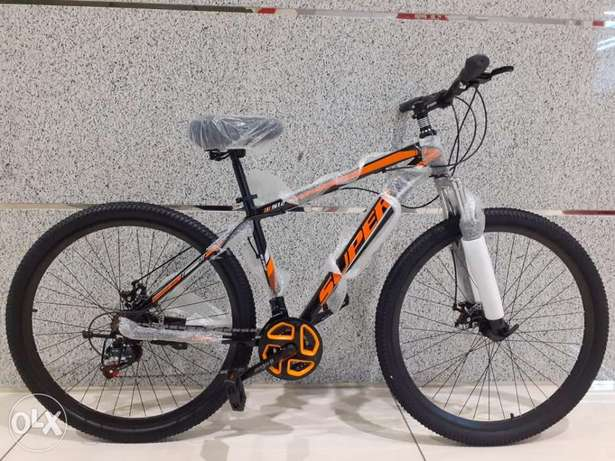 """New super cycle size 29"""" aluminum flash,orange, red and blue color"""