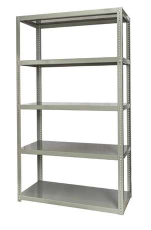 Ivory bolted shelving units 5 levels R699 Durban - image 1