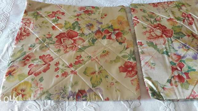 2 pair of pillow covers