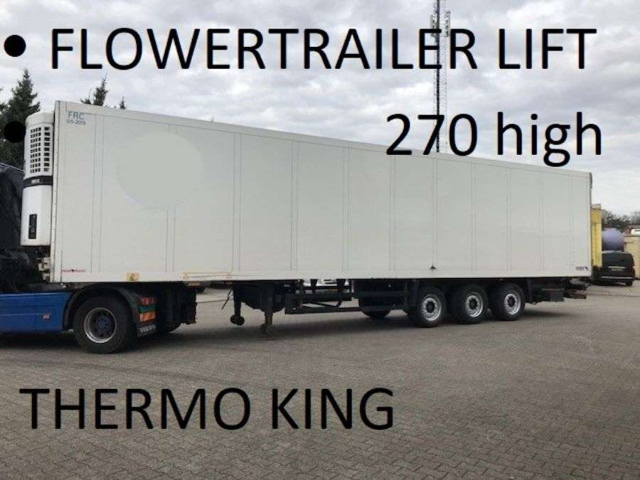Schmitz Cargobull Flowertrailer , Loadlift 2.50 Width, 2.70 High , Thermo King - 2007