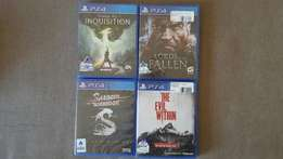 Sealed PS4 Games