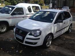 2008 polo 1.6 white color with 82000km R84000