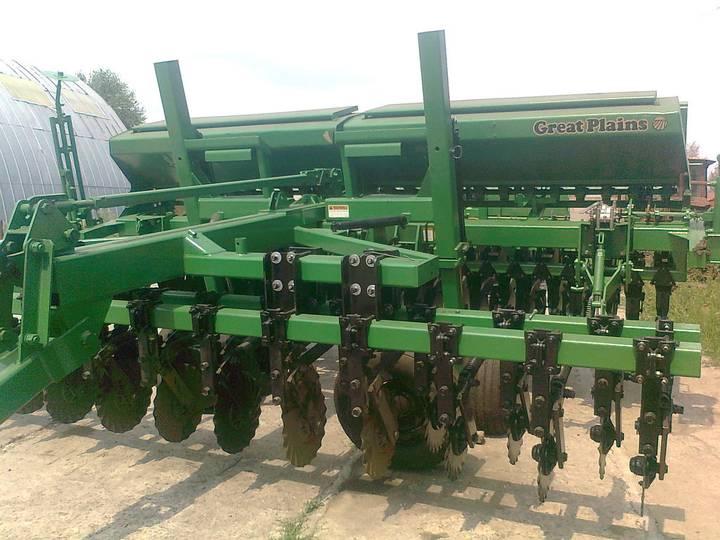 Great Plains CPH - 1500 4,5 м зерновая с внесением сухих минеральных