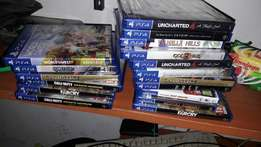 All Ps4 new latest games at fair price