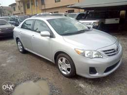 Newly arrived Tokunbo Toyota Corolla LE 2013 model available for sales