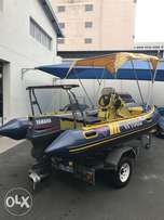 Rubber duck 5.1m with 85hp Yamaha
