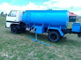 Isuzu ,3.3 nkr water bowser.Has a heating problem.selling as is.KAC
