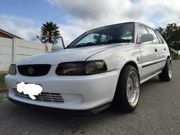 Toyota Tazz 1.6i sport for sell R12,500
