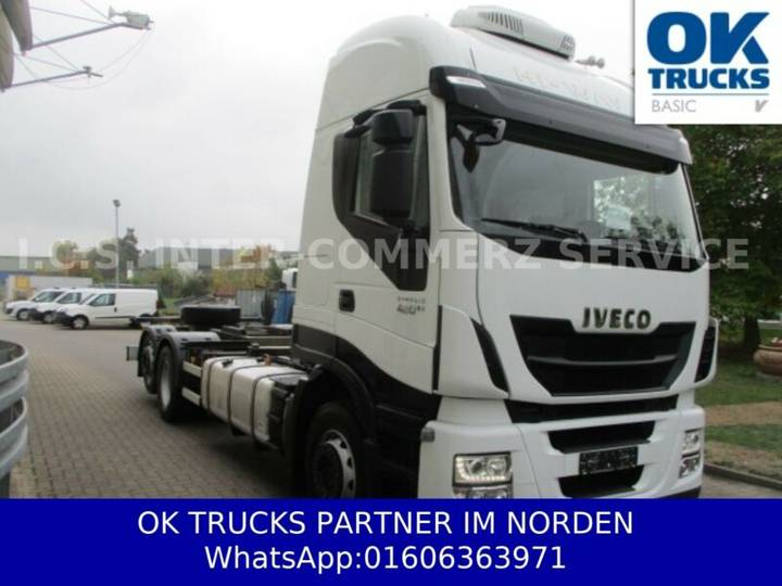 Iveco Stralis AS260S42YFPCM Euro6 Intarder TOP 1049,-€ - 2015
