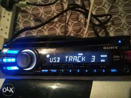 Sony DVD radio
