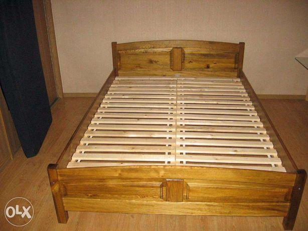 łóżko Drewniane Sosnowe 140x200x70 Od Lemag Kępno Olxpl