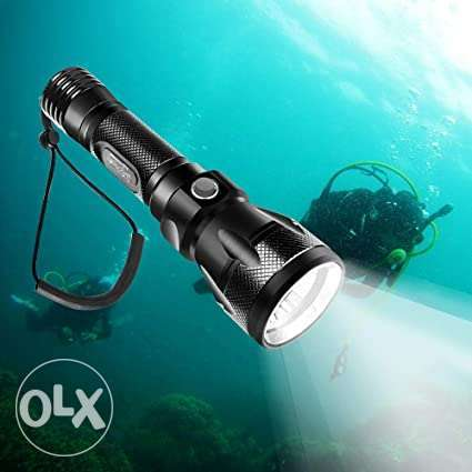 Brand New Rechargeable Diving Flashlight