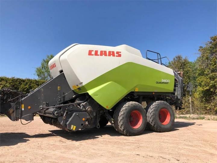 Claas Quadrant 3400 - 2012