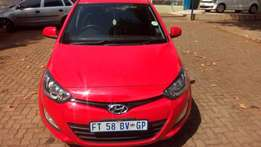 2013 Hyundai i20 1,4 Colour Red
