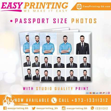 Turn your selfie to Passport size Photos - with Home Delivery Service!