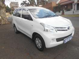 Toyota Avanza 1.5 SX 2015 model White in color 9000km R165000