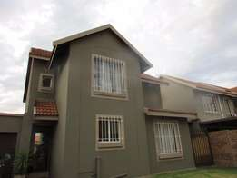 Beautiful family home in secure complex in Eveleigh Boksburg
