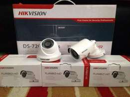 Four CCTV Cameras Complete Package System On Sale + Free Delivery