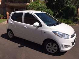 2014 Hyundai i10 1.25 fluid automatic ..vehicle has 4500kms only