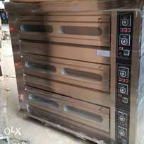 Gas oven 9trays
