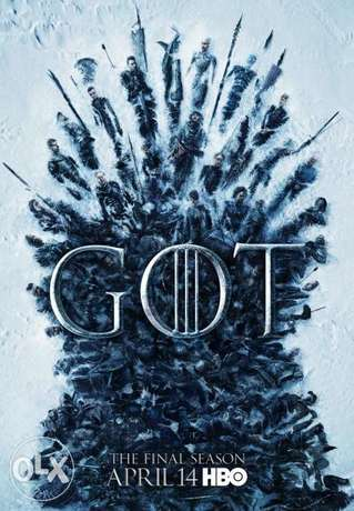 GAME OF THRONES Complete 8 Seasons available