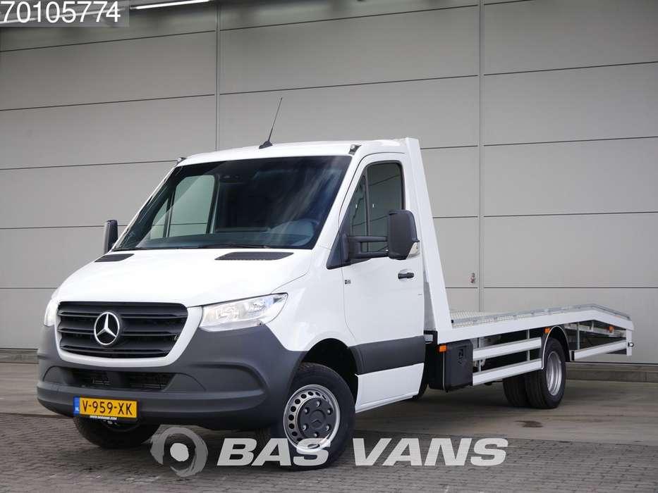 Mercedes-Benz Sprinter 516 CDI Oprijwagen Autotransporter Dubbellucht N...
