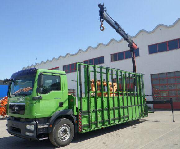 MAN 18.290 Palfinger Glastransport *EURO5* - 2010