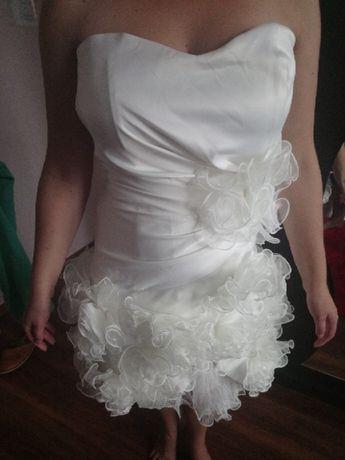 Krótka Suknia ślubna Dla Swiadkowej Szal Nowy Dwór Mazowiecki