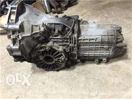 Audi a4 v6 auto & manual gear boxes for sale and sub assembly