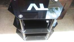 Glass tv stand cheaply sold