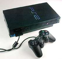 Ps 2 with a controller and pen drive with games