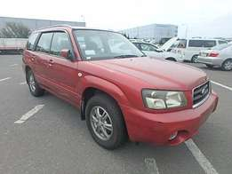 Subaru forester model 2004 on sale