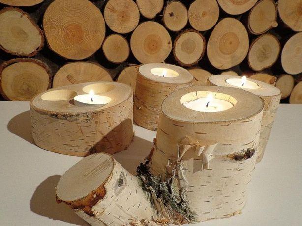 Plastry Drewna Brzoza Gruba Kora 14 16 Cm Gr 2cm Rybnik