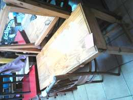 Reading table and chair for sale
