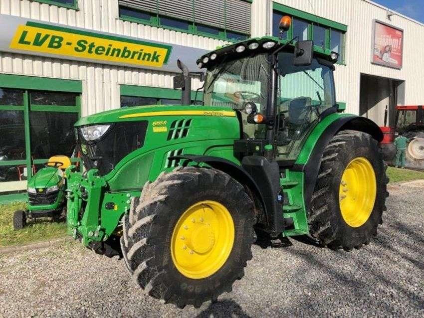 John Deere 6155r Autoquad Ecoshift 40km/h - 2016