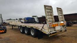 2012 Basat Tri Axle Stepdeck Lowbed Trailer for sale